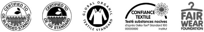 labels produits textile bio équitable