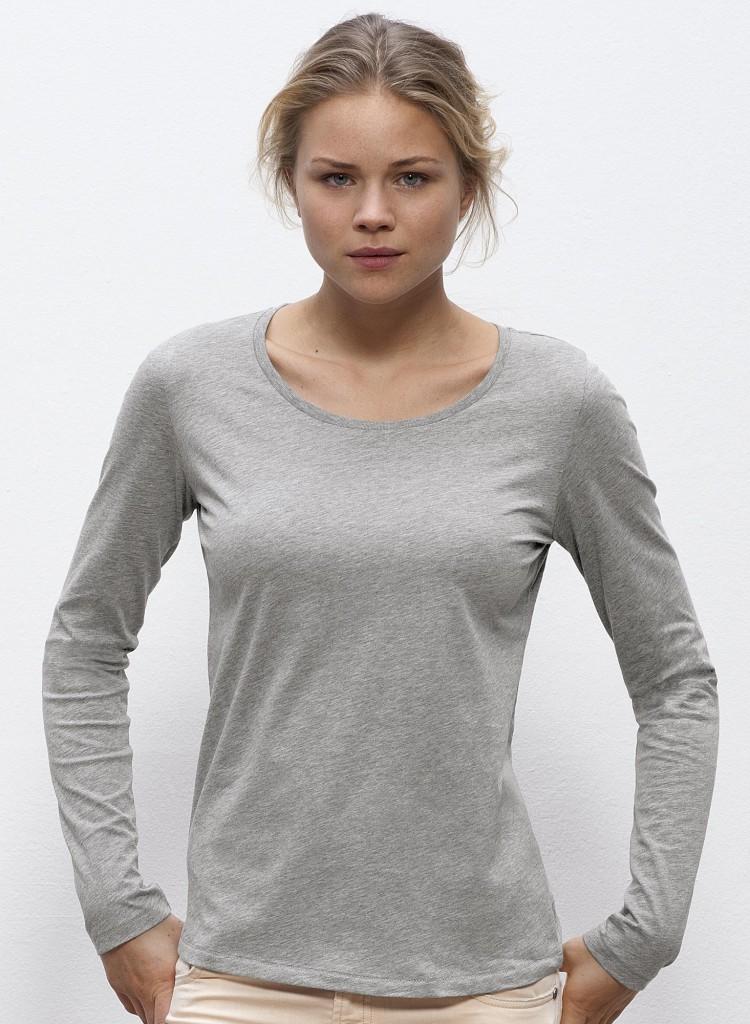 manches longues femme coton peign 100 bio quitable impression num rique textile tee shirt. Black Bedroom Furniture Sets. Home Design Ideas